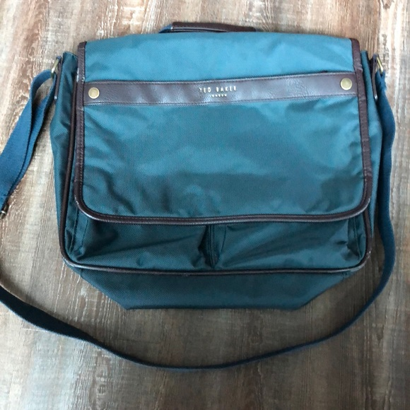 ted baker mens messenger bag